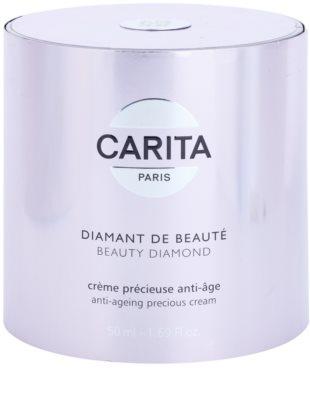 Carita Diamant krem przeciwzmarszczkowy i regenerujący z proszkiem diamentowym 3