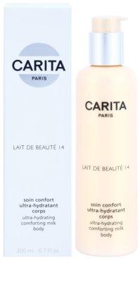 Carita Beauté 14 vlažilni losjon za telo z karitejevim maslom 1