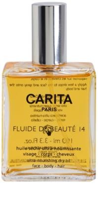 Carita Beauté 14 vyživujúci suchý olej na tvár, telo a vlasy