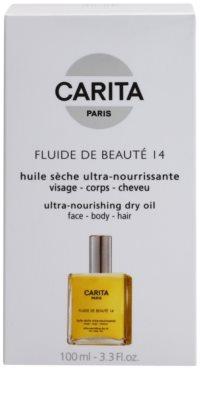Carita Beauté 14 ulei hranitor uscat parului facial si de pe corp 2