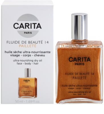 Carita Beauté 14 Nourishing Dry Oil With Glitter 1