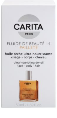 Carita Beauté 14 Nourishing Dry Oil With Glitter 2