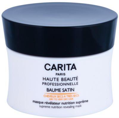 Carita Haute Beauté Professionnelle mascarilla nutritiva e hidratante para cabello seco y dañado