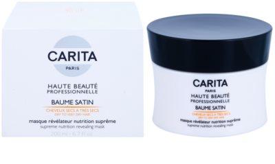 Carita Haute Beauté Professionnelle mascarilla nutritiva e hidratante para cabello seco y dañado 1
