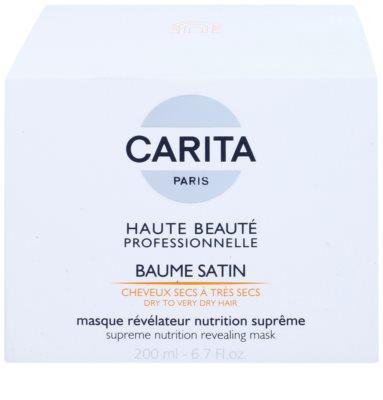 Carita Haute Beauté Professionnelle hidratáló és tápláló maszk száraz és sérült hajra 2