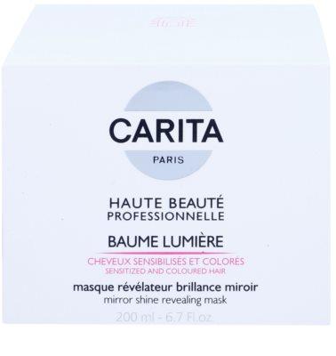 Carita Haute Beauté Professionnelle erneuernde Maske für gefärbtes und geschädigtes Haar 2