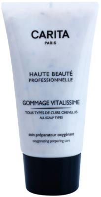 Carita Haute Beauté Professionnelle exfoliant pentru a elimina parul uscat si matreata din scalp