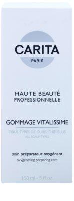 Carita Haute Beauté Professionnelle пилинг за коса за премахване на суха кожа от скалпа и пърхот 2