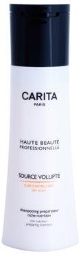 Carita Haute Beauté Professionnelle tápláló sampon száraz hajra