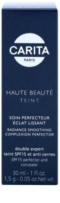 Carita Haute Beauté Teint изглаждащ фон дьо тен с коректор SPF 15 3