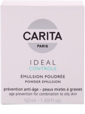 Carita Ideal Controle emulsión con efecto polvos para pieles mixtas y grasas 3
