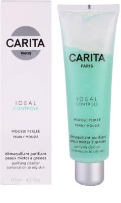 Carita Ideal Controle Reinigungsschaum für fettige und Mischhaut 1