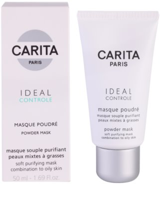 Carita Ideal Controle tisztító maszk kombinált és zsíros bőrre 1