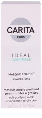 Carita Ideal Controle tisztító maszk kombinált és zsíros bőrre 2