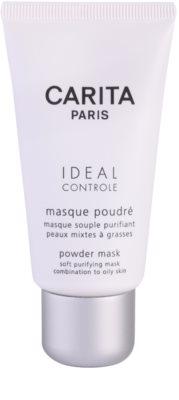 Carita Ideal Controle почистваща маска  за смесена и мазна кожа