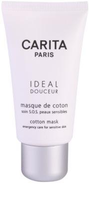 Carita Ideal Douceur pomirjajoča maska za občutljivo kožo