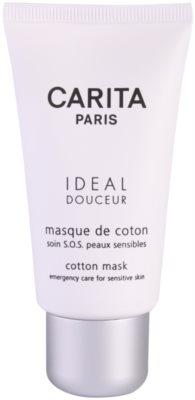 Carita Ideal Douceur заспокоююча маска для чутливої шкіри