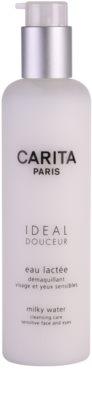 Carita Ideal Douceur почистваща грижа за чувствителна кожа на лицето и околоочен контур