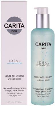 Carita Ideal Hydratation energizujúci čistiaci gél na tvár a oči 1