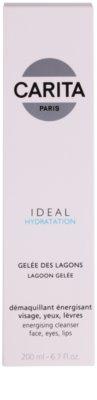 Carita Ideal Hydratation energizujúci čistiaci gél na tvár a oči 2