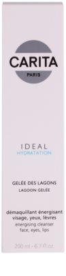 Carita Ideal Hydratation енергетичний очищуючий гель для обличчя та очей 2