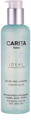 Carita Ideal Hydratation gel de limpeza energizante para rosto e olhos