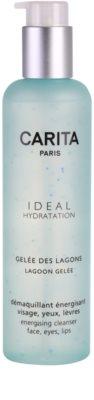 Carita Ideal Hydratation енергетичний очищуючий гель для обличчя та очей