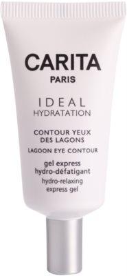 Carita Ideal Hydratation gel hidratante para contorno de ojos