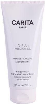 Carita Ideal Hydratation озаряваща хидратираща маска с мигновен ефект