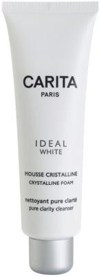 Carita Ideal White espuma de rosto para apaziguar a pele
