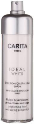 Carita Ideal White emulsión iluminadora  SPF 30
