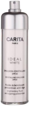 Carita Ideal White rozjasňující emulze SPF 30