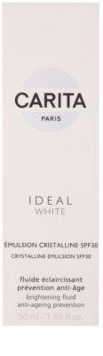 Carita Ideal White emulsión iluminadora  SPF 30 1