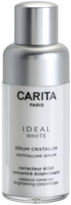 Carita Ideal White öregedés jeleit csökkentő arcszérum a pigment foltok ellen