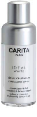 Carita Ideal White sérum para reduzir os sinais de envelhecimento anti-manchas de pigmentação