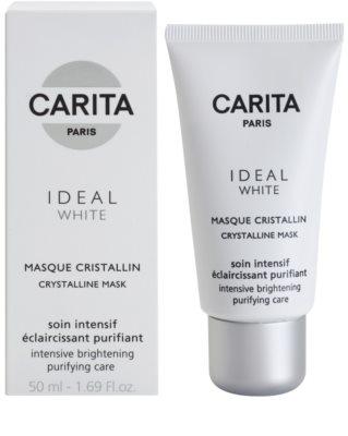 Carita Ideal White rozjaśniająca maseczka do twarzy przeciw przebarwieniom skóry 1