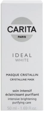 Carita Ideal White rozjaśniająca maseczka do twarzy przeciw przebarwieniom skóry 2