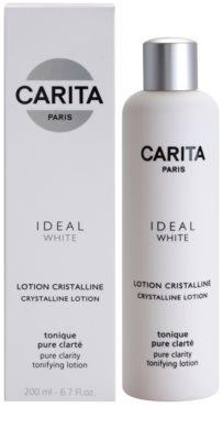 Carita Ideal White tónico limpiador facial  para iluminar la piel 1
