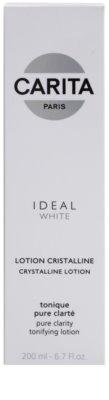 Carita Ideal White tónico limpiador facial  para iluminar la piel 2