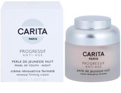 Carita Progressif Anti-Age revitalisierende Nachtcreme zur Festigung der Haut 2