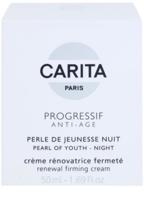 Carita Progressif Anti-Age revitalisierende Nachtcreme zur Festigung der Haut 3