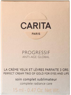 Carita Progressif Anti-Age Global crema pentru fermitate si stralucire pentru conturul ochilor si buzelor 2