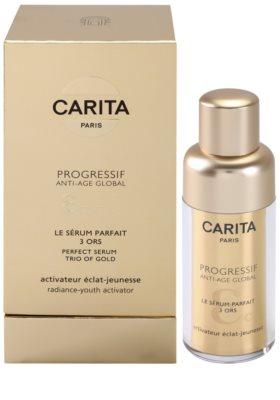 Carita Progressif Anti-Age Global Serum für komplexe Anti-Faltenpflege für die Erneuerung der Hautzellen 2
