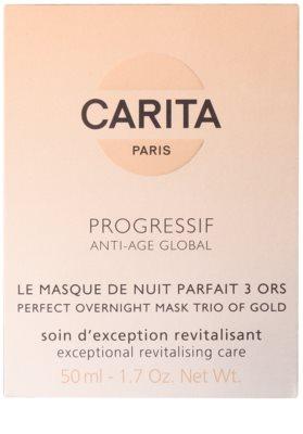 Carita Progressif Anti-Age Global rewitaloizująca maseczka do twarzy na noc 3
