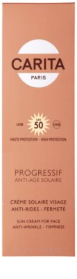 Carita Progressif Anti-Age Solaire opalovací krém na obličej s protivráskovým účinkem SPF 50 3