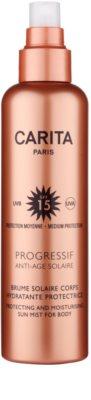 Carita Progressif Anti-Age Solaire névoa hidratante protetora SPF 15 1