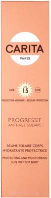 Carita Progressif Anti-Age Solaire хидратираща и предпазваща защитна мъгла SPF 15 3