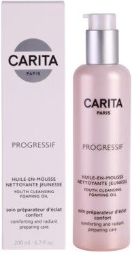 Carita Progressif Cleaners nyugtató és tisztító olaj 1