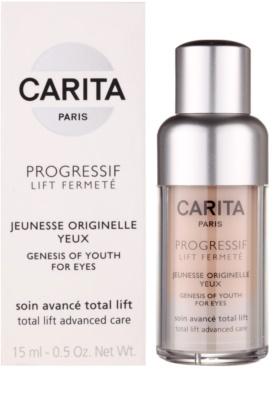 Carita Progressif Lift Fermeté Augengel gegen Falten, Schwellungen und Augenringe 2