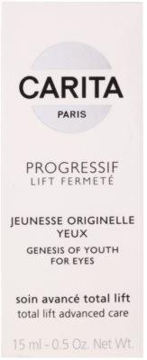 Carita Progressif Lift Fermeté Augengel gegen Falten, Schwellungen und Augenringe 3